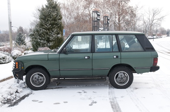 A prime example of a 1993 SWB Range Rover