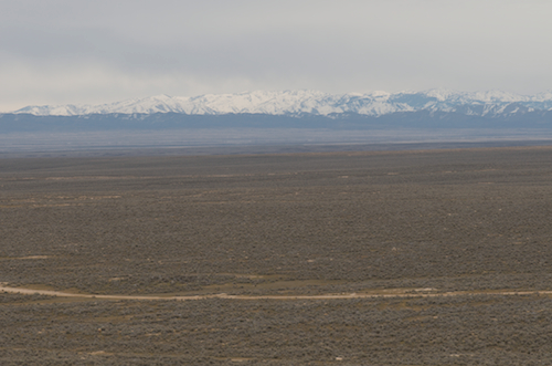 The Owyhee range. There will be snow until at least May.
