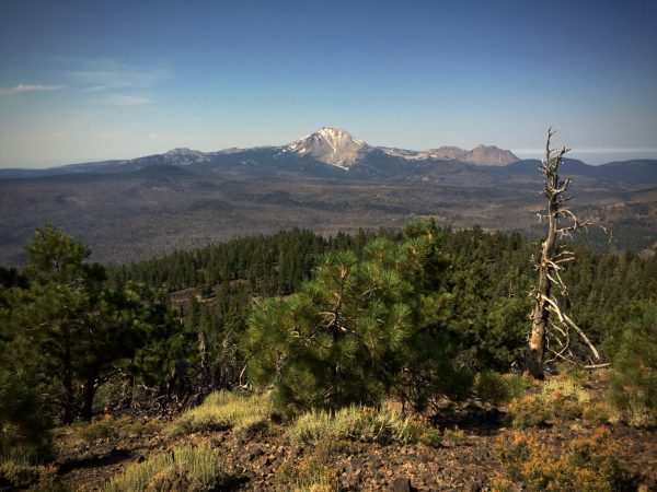 Lassen Peak as seen from Prospect Peak
